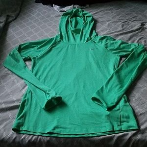 Gently Used Hooded Nike DriFit Long Sleeve Size S